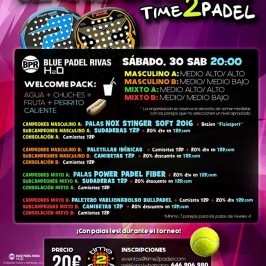 time2padel 30 julio